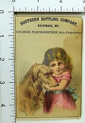 1870's Rochester Beer Southern Bottling Co, Bartholomay Brewing Trade Card 4 F69