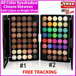 Eyeshadow Palette Makeup 40 Color Cream Eye Shadow Matte Shimmer Set Cosmetic $5.99