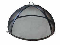 57 304 Stainless Steel Lift Off Dome Fire Pit Safety Screen