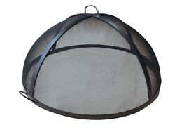 59 304 Stainless Steel Lift Off Dome Fire Pit Safety Screen