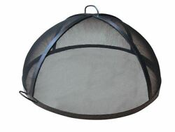 56 304 Stainless Steel Lift Off Dome Fire Pit Safety Screen