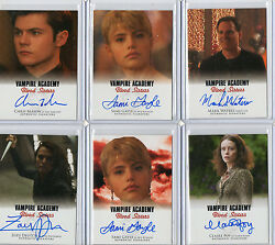 Vampire Academy Blood Sisters Autograph Card Selection Nm 2014 Leaf
