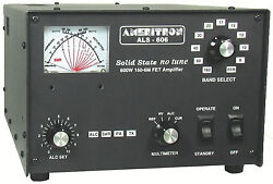 Ameritron ALS-606 600W 160-6M Solid State Amplifier with ALS-600PS Linear PSU