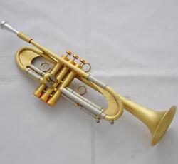 New Professional Germany Design Bb Trumpet Horn Reverse Leadpipe With Case