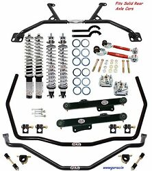 Qa1 Handling Level 2 Suspension Kit -fits1996-2004 Ford Mustang Solid Rear Axle
