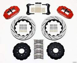 1965-82 Corvette C2/c3 Wilwood Superlite 6r Front Big Brake Kit 13 Rotors