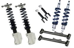 Ridetech Complete Hq Coilover System Fits 1990-1993 Ford Mustangfox Bodygt5.0