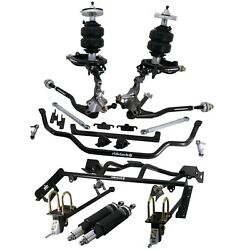 Ridetech Air Suspension System,Fits 1964-66 Mustang,Fastback,4 link,Control Arms