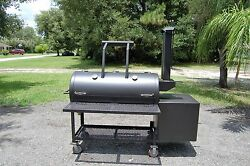 New Bbq Patio Smoker With Single Door Non Insulated Fire Box