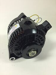 65-85 Ford Mustang 3g High Output Small Case Black Alternator 160a 1v Ply 1 Wire