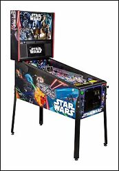 NEW Stern Star Wars  PRO Pinball Machine  Free Shipping  IN STOCK SHIPS TODAY!