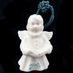 Belleek Choir Of Angles Bell 3.5 New Never Used Made In Ireland Ornament 1997