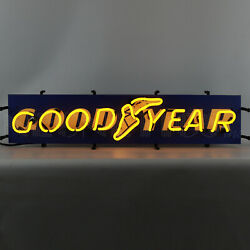 Goodyear Neon Sign Licensed Tires Dadand039s Garage Wall Lamp Light Good Year Blimp