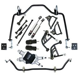 Ridetech Air Suspension System Fits 1965-1966 Chevy Impalashockscontrol Arms