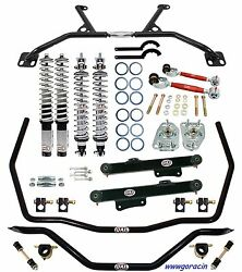 Qa1 Handling Level 2 Coilover Suspension Kit - Fits 79-89 Ford Mustanggt5.0