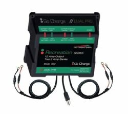 Dual Pro Recreation Rs2 Battery Charger - 2 Bank 12 Amp Marine Charger