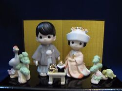 BNIB Precious Moments THE LORD BLESS YOU AND KEEP YOU 111904 Japanese Wedding
