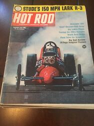 Hot Rod Magazine 1964 - The Complete Year 12 Issues - Hot Rods & Drag Racing