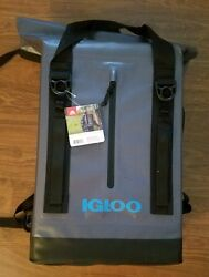 IQLOO WELDED BACKPACK 28 CAN 13 QT WATERLIGHT LEAK RESISTANT COOLER HIKING CAMP