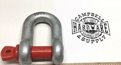Anchor Chain Shackle 1 Safe Wll 17000 Slingwire Ropeboat Anchor