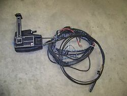 MERCURY QUICKSILVER REMOTE CONTROL SHIFTER WITH TRIM  TILT and 12' cables