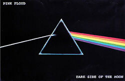 Pink Floyd Dark Side Poster 36x24 With Choice of Rolled Frame or Plaque