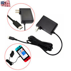 High Speed Travel Wall Power Charger Adapter AC Power for Nintendo Switch USA