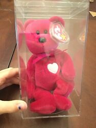 Rare Ty Valentina Beanie Baby With Errors Mint Condition