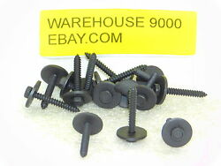 15 Hex Head Sems Tapping Screws Auveco 19653 Ford N811534-s61 General Purpose
