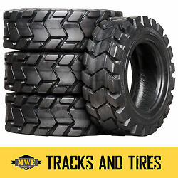 10-16.5 10x16.5 Camso Sks 775 10-ply Skid Steer Tires Pick Your Rim Color