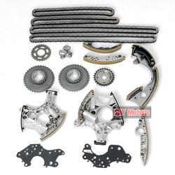 Cam Timing Chain Guide Tensioner Adjust Kit For Audi A4 A6 Quattro 3.2l Auk Bkh