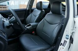 Toyota Prius C 2012-2019 Iggee S.leather Custom Seat Cover 13 Colors Available