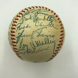 Nice 1953 Chicago Cubs Team Signed National League Baseball