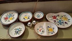 For Antique Collectors Stangl Fine China Sets For 6