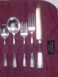 Flatware Sterling Silver Antique Courtship By International Sterling Year 1936