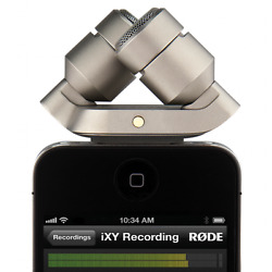 Rode iXY Recording Microphone for iPhoneiPad w 30-Pin connection PRO AUDIO!!