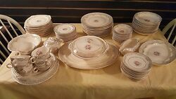 Brand- Paden City Authentic, A Beautiful Antique Chinaware Set For 12