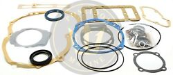 Conversion Oil Pan Gasket Set For Volvo Penta Md11c Md11d Ro 876384 875554