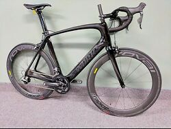 Specialized S-Works Venge Dura Ace Di2 11 Speed Black on Black 58cm