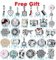 Genuine 925 Sterling Silver PAN Signature Symbols Love Charms for Charm Bracelet