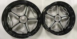 20 Black Contrast Cut Speed Star Wheelstires Set Of 2 For 2011 Can-am Spyder