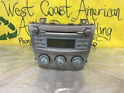 07 08 09 Toyota Camry Radio Single CD-Player Climate Control OEM 86120-06180