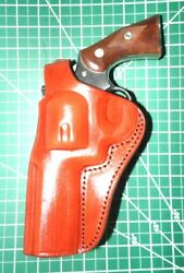 Tagua Pd1r-1218 Lh Leather Rotating Paddle Thumb Break Holster Ruger Gp100 4