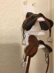 LSQ 19 Scale Breyer Model Horse Saddle Tack Rack. Performance Prop. ANY COLOR