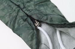 35ft Zippered Central Vacuum Hose Cover Sock Vacsoc Green