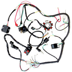 Electric Wire Wiring Harness Cdi Coil Assembly For 50 110cc 125cc Atv Quad Buggy