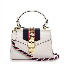 Sylvie leather mini bag off white in perfect condition! Never worn