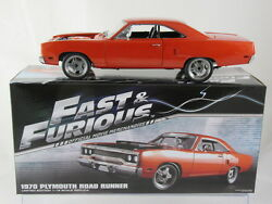 Gmp 1970 Plymouth Road Runner - Fast And Furious 7 G18807