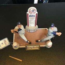 Mickey Mantle Signed Autographed Sports Impressions Switch Hitter Statue Figure