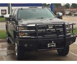 New Ranch Hand Winch Front Bumper 2015 2016 2017 2018 Chevy 2500hd 3500 2500
